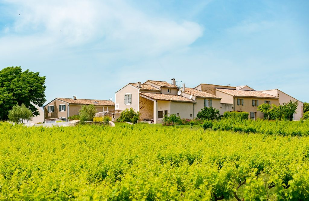 propriété viticole à vendre cru côtes du Rhône
