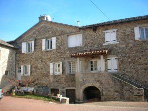 Propriété viticole à vendre de 5.3 HA - beaujolais
