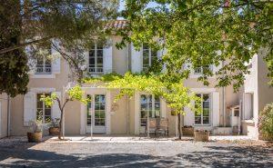 facade propriété viticole - corbières