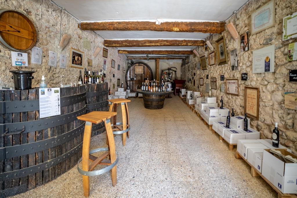 Caveau viticole