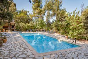Domaine viticole piscine